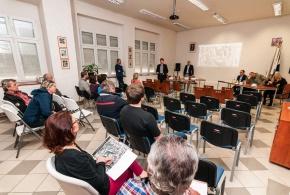 Veřejné projednání upravený bytový dům Mílová 23.4.2015