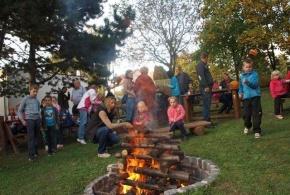 Táborák v MŠ Lojovická 8. 10. 2013