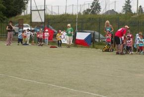 Olympijské hry v MŠ Mezi Domy 12.6.2014