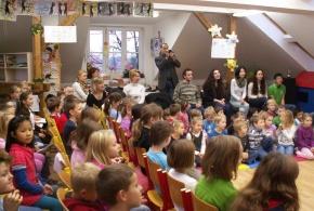 Zahájení multikulturního projektu Edison v ZŠ L. Coňka 18.11.2013