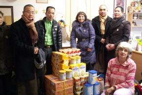 O.s. Laskavý Domov poskytlo dar Dětskému centru Thomayerovy nemocnice 21. 1. 2014