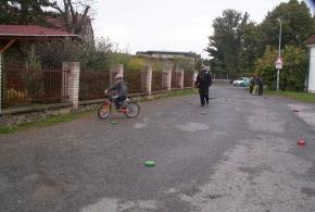Den bez aut před ZŠ Ladislava Coňka 22. 9. 2014