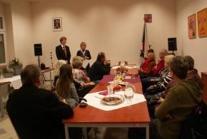 Setkání s vítězi soutěže Rozkvetlá Libuš a Písnice 13.11.2013