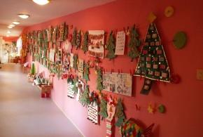 Vánoční výstava v MŠ Lojovická 5.12.2013