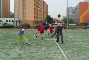 Fotbalový turnaj čtyř škol na hřišti Klokotská 2.5.2013