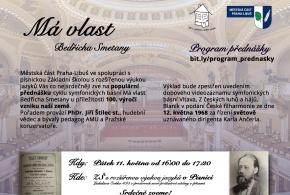 Má vlast Bedřicha Smetany - ke 100. výročí vzniku naší země - přednáška v ZŠ s RVJ v Písnici