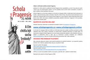 Leták Schola Pragensis