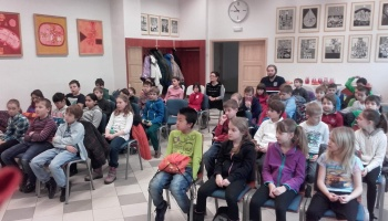 Setkání se žáky ze ZŠ Meteorologická 24.2.2016