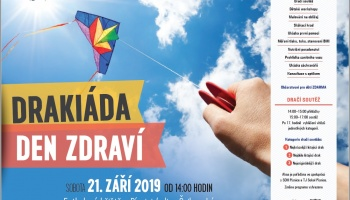 Drakiáda a Den zdraví 2019 na fotbalovém hřišti v Písnici